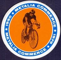 CROATIA - METALIA  COMMERCE  TEAM - Self-adhesive - ZAGREB - 1975 - Cycling