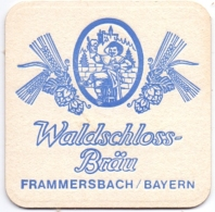 #D218-076 Viltje Waldschloss Bräu - Sous-bocks