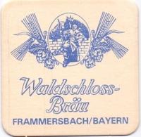 #D218-077 Viltje Waldschloss Bräu - Sous-bocks