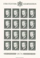 Liechtenstein, Kleinbogen Nr. 615** (K 3359) - Blocks & Kleinbögen