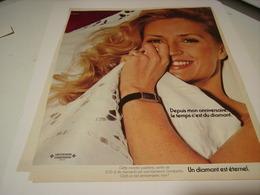 ANCIENNE PUBLICITE  UN DIAMANT ETERNEL VACHERON CONSTANTIN 1979 - Jewels & Clocks