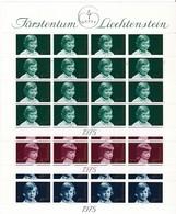 Liechtenstein, Kleinbogen Nr. 620/22** (K 3360) - Blocs & Feuillets
