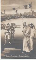 426-Tripoli-Libia-Africa-ex Colonie Italiane-Militaria-Guerra Italo-Turca-Fucilazione Di Arabi Traditori-Bandiera - Libya