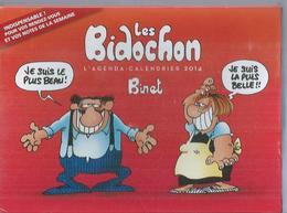 """LES BIDOCHON  """" L'AGENDA-CALENDRIER 2014 """" - BINET - E.O SEPTEMBRE 2013  FLUIDE GLACIAL - Bidochon, Les"""