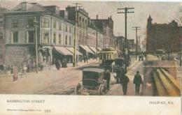 Halifax; Barrington Street (Tramway) - Not Circulated. (Warwick Bro's & Rutter - Toronto) - Halifax