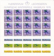 Liechtenstein, Kleinbogen Nr. 635/38** (K 3365) - Blocks & Kleinbögen