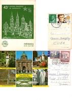 Esperanto Cartoline Spagna Austria Viaggiate Con Annullo Speciale - Sellos