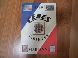 France Cérès Variétés 1990 - 222 Pages - France