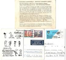 Esperanto Cartoline Olanda Austria - Sellos