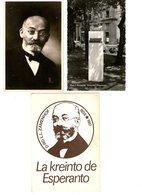 Esperanto Cartoline Zamenhof - Sellos