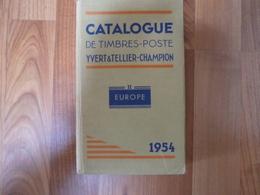 Yvert Et Tellier 1954 - 782 Pages - France