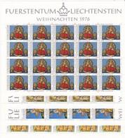 Liechtenstein, Kleinbogen Nr. 662/65** (K 3370) - Bloques & Hojas