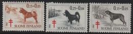 Suomi-Finland - 1965 Native Dogs-Chiens Indigènes- Einhaimische Hunde (Trees/Forest-Arbres/Forêt/Bäume/Wald)  ** - Finland