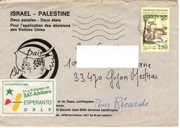 Esperanto Francia Israele Palestina - Sellos