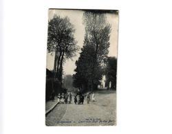 1 Oude Postkaart Drogenbos  Droogenbosch Grote Steenweg Grande Route  Edit.  De Clerck  1906 Café Au Cher Ami - Drogenbos