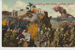 428-Tripoli-Libia-Africa-ex Colonie Italiane-Militaria-Guerra Italo-Turca-Ed.Franco-turca Con Scritta In Arabo - Libya