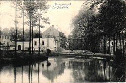 1 Oude Postkaart Drogenbos  Droogenbosch La Papeterie    Edit.  De Clerck  1906 - Drogenbos