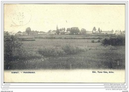 SIBRET ..-- VAUX ..-- Panorama . 1907 Vers BRUXELLES ( Melle Lily VASSEUR ) . Voir Verso . - Vaux-sur-Sûre