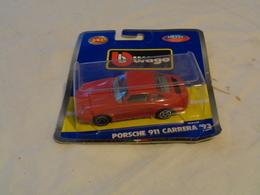 PORSCHE 911 CARRERA 93 - SCALA 1:43 DIE-CAST METAL - BURAGO COLLECTION 4880 - LEGGI - Burago