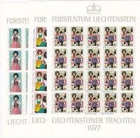 Liechtenstein, Kleinbogen Nr. 684/86** (K 3375) - Bloques & Hojas