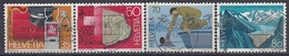 SWITZERLAND 1290-1293,used - Timbres