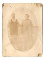 PHOTO ORIGINALE HOMME BAIGNEUR FEMME BAIGNEUSE - MAN BATHER WOMAN - Persone Anonimi