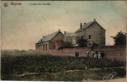 2 Oude Postkaarten   Wijgmaal  Wijgmael  Klooster Ursulinen  Couvent Des Ursulines 1908  Kerk 1909 Edit. Berckmans - Belgique