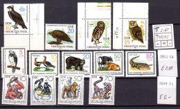 18.5.1982; Mi-Nr. 2702 - 05 / 25.6.1985; Mi-Nr. 2952 - 56 / 27.5.1986; Mi-Nr. 3019 - 22, Postfrisch, Los 49991 - Unused Stamps