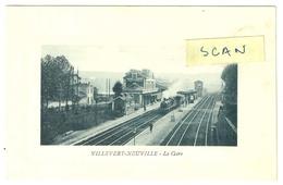 Villevert-Neuville : La Gare - France