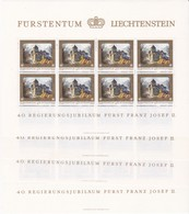 Liechtenstein, Kleinbogen Nr. 706/09** (K 3379) - Bloques & Hojas