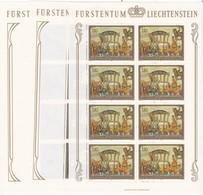 Liechtenstein, Kleinbogen Nr. 717/19**(K 3336a) - Bloques & Hojas