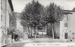 26 CREST - Place Des Moulins - Crest