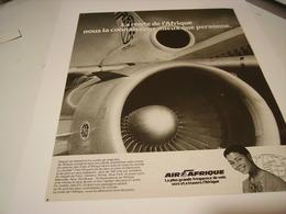 ANCIENNE PUBLICITE LA ROUTE DE L AFRIQUE  AIR AFRIQUE 1979 - Advertisements