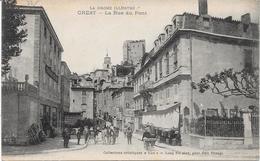 26 CREST - La Rue Du Pont - Animée - Crest