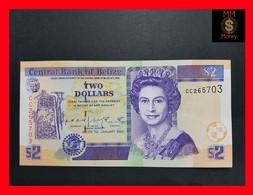 Belize 2 $ 2002 P. 60b UNC - Belize