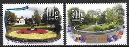 Islande 2012, N°1283/1284 Neufs Jardins Publics - Neufs