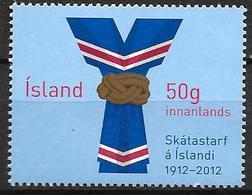 Islande 2012, N°1286 Neuf Centenaire Du Scoutisme - Neufs