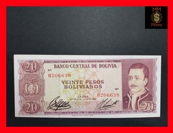 Bolivia 20 Pesos 1962 P. 161 XF - Bolivië