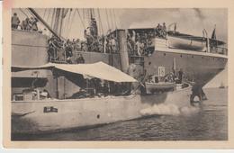 430-Tripoli-Libia-Africa-ex Colonie Italiane-Militaria-Guerra Italo-Turca-Sbarco Di Truppe-Nave - Libya