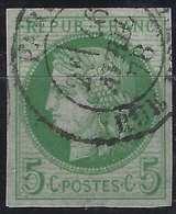France Colonies N°17 Utilisé à Paris !!!  ..R...signé Calves - Ceres