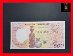 Central African Republic 500 Francs 1987 P. 14 UNC - República Centroafricana