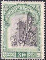 Portugal 1928 Independência De Portugal 3 Emissão Third Independence Issue A94 The Siege Of Santarem MLH - Storia