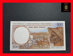 Central African States 500 Francs 1994 P. 101Cb UNC - États D'Afrique Centrale