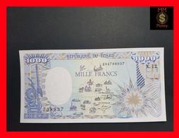 Chad 1.000 1000 Francs 1992 P. 10A UNC - Tschad