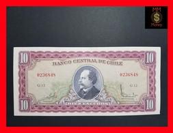 Chile 10 Escudos 1962-75 P. 139 UNC- - Chile