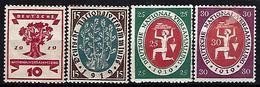Germany 1919-20 Nationalversammlung  (*) Mi.107-110 - Germany