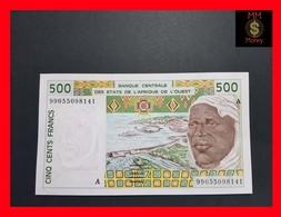 Ivory Coast 500 Franc 1999 P. 110Aj UNC- - Côte D'Ivoire