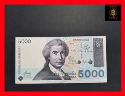 Croatia 5.000 5000 Dinara 1992 P. 24 UNC - Croatie