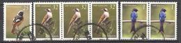 6 Zegels Stamps Timbres Vogels Birds Oiseaux - 1945-... República De China