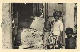 DJIBOUTI Entrée D'un Restaurant  RV - Djibouti